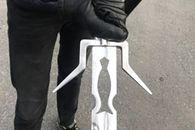 Wiedźmin amator pożyczył miecz od Ciri i biegał z nim po ulicy. Zatrzymała go policja