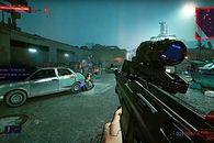 Cyberpunk 2077 zamieniony w Borderlandsy. Spektakularny mod do gry - Mod do Cyberpunka 2077 -  Borderlandfy2077