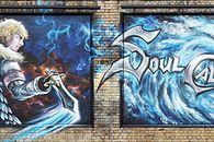 Taką promocja to rozumiem: OGROMNE graffiti z SoulCalibur 5