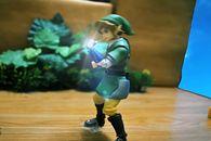 Zobaczcie niesamowitą animację figurki Linka z Zeldy