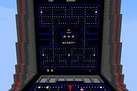Wiele rzeczy zbudowano już w Minecrafcie, teraz możemy dopisać do nich działający automat z Pac-Manem