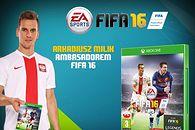 FIFA 16 - Arkadiusz Milik bohaterem transferu roku. Trafi na okładkę
