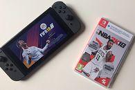FIFA 18 i NBA 2K18 kontra Switch