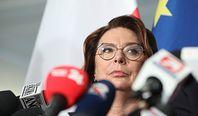 PiS zachwycone wypowiedzią Małgorzaty Kidawy-Błońskiej. Chodzi o słowa o Kaczyńskim