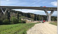 Budowa zakopianki. We wtorek próby obciążeniowe na najwyższej drodze w Polsce