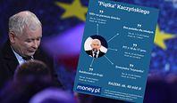 500 plus na każde dziecko, trzynasta emerytura, obniżka PIT. Oto, co Kaczyński obiecał Polakom