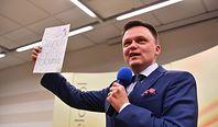 """Ksiądz odmówił komunii Szymonowi Hołowni. """"Za poglądy, które pan głosi"""""""