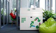 Sortownia śmieci wielkości biurka