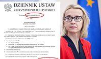 Teresa Czerwińska wydała rozporządzenie. Ukazało się, gdy już nie była ministrem