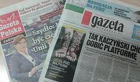 """""""Gazeta Wyborcza"""" ostro w dół. Wyniki sprzedaży dzienników"""