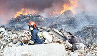 Płoną śmieci z Niemiec i Włoch. Plaga pożarów w Polsce. Będą kolejne, bo biznes musi się kręcić