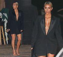 Półnaga Kim Kardashian chwali się ciałem w Malibu