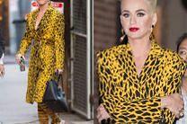 Drapieżna Katy Perry w płaszczu za 15 000 złotych