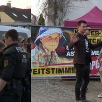 Tłumy neonazistów na festiwalu w Niemczech. Tak bawili się tuż przy polskiej granicy