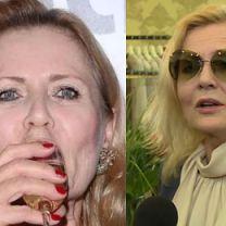 """Szapołowska odkrywa eliksir młodości: """"Pić dużo szampana i tarzać się w śniegu. Zwłaszcza twarz!"""""""