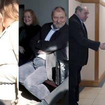 TYLKO U NAS: Uśmiechnięty Grabowski na rozprawie rozwodowej