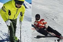 Modne narciarskie spodnie - jakie wybierają celebryci?