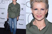 Joanna Racewicz chwali się soczewkami pod kolor dżinsów