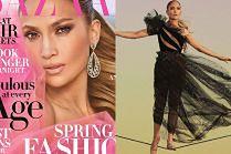 Jennifer Lopez chodzi po linie w nowej sesji