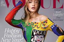 """Gigi Hadid na 21. okładce """"Vogue'a"""""""