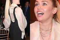 Miley Cyrus z długą kitą na charytatywnej gali