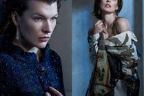 """Milla Jovovich pozuje dla """"Vogue'a"""""""