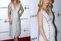 Ciężarna Claire Danes w sukience za 6,5 tysiąca