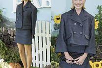 Margot Robbie pozuje w garsonce Chanel