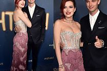 Bella Thorne i młody Schwarzenegger razem na premierze