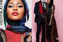 """Nicki Minaj i Karl Lagerfeld w """"kontrowersyjnej"""" sesji"""