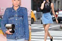Gwiazdy noszą dżinsowe spódniczki