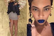 Beyonce wypina pupę w szortach za 1,5 tysiąca