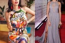 Sukienka z dekoltem halter – jakie wybierają gwiazdy?