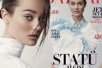 Monika Jagaciak pozuje w białych stylizacjach