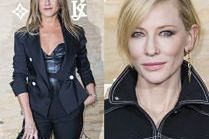 Aniston i Blanchett na imprezie Louis Vuitton w Luwrze