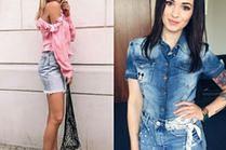 Spódnica jeansowa w różnych wydaniach - 5 inspiracji