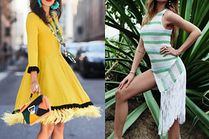 Sukienki z frędzlami na lato - 5 propozycji