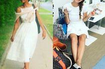 Baleriny do sukienki - sposób celebrytek na wygodę i styl