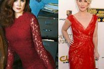 Stylowa czerwona koronkowa sukienka - 5 propozycji