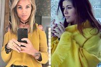 Żółty sweter na szare dni - jakie wybierają celebrytki?