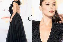 Elegancka Bella Hadid na otwarciu wystawy Diora