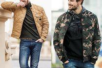 Modne pikowane kurtki wiosenne w stylizacjach celebrytów