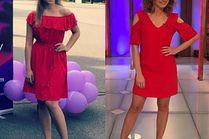 Czerwone sukienki na wesele inspirowane stylizacjami gwiazd