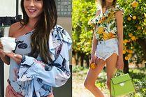 Stylowe bluzki hiszpanki w kwiaty - 5 propozycji