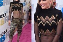 Płaski brzuch Gwen Stefani…