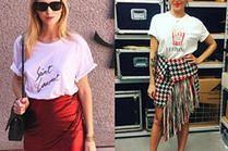 Najpiękniejsze asymetryczne spódnice - jakie wybierają celebrytki?