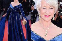 """Olśniewająca Helen Mirren odsłania dekolt w """"średniowiecznej"""" sukni"""