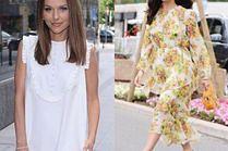 Jakie letnie sukienki oversize wybierają celebrytki?