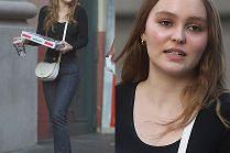 Lily-Rose Depp zabrała fotografów na spacer z pizzą