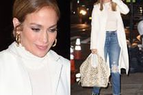 Jennifer Lopez chwali się torebką z pytona za 25 TYSIĘCY